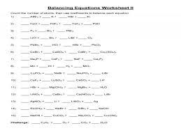 chemfiesta balancing equations worksheet answers jennarocca worksheet more practice balancing equations