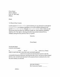 care of letter power of attorney letter for child care printable medical forms