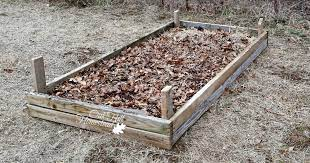 how to build a raised bed garden oak