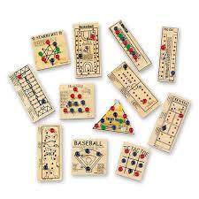 Wooden Peg Games Wooden Peg Game Assortment Pkg of 100 10