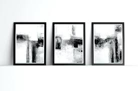 black wall art minimalist art minimalist wall art abstract art set of 3 black and white black metal wall art uk