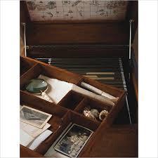 steamer trunk filing cabinet idea