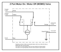 wiring diagram of honeywell motorised valve