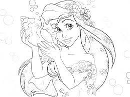 unusual baby princess coloring pages disney princesses photograph ariel