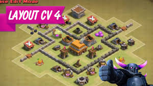 Layout Cv 4 Guerra Clash Of Clans O Melhor Youtube