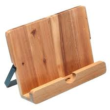 diy cookbook stand medium image for recipe book holder kitchen utensils soft brown wooden alluring cookbook