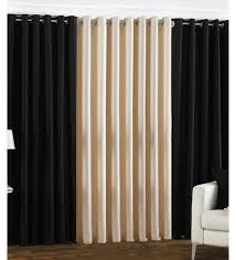 black and cream curtains google search