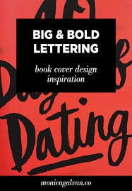 big and bold hand lettering book cover design inspiration