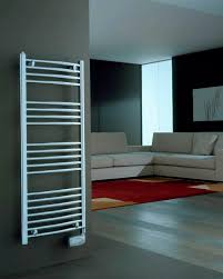 Electric towel radiator steel contemporary vertical CHROME