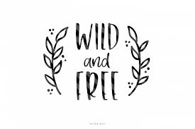 Free Decal Designs Wild And Free Svg Cutting File Decal