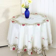 whole cloth round tablecloths best large round tablecloths