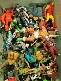 years ago my best friend gave me his childhood toys for my then 8
