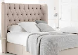 The King Size Headboards From Ikea That Collection And Headboard Picture  Soft Tufted With Comfy Bedding Set Pillows Plus Cushions Combined Glass