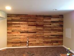 Pallet accent wall!
