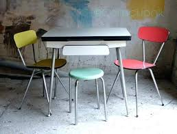 Formica Retro Table Green And Chrome Retro Kitchen Table And Chairs