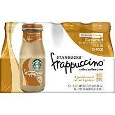starbucks caramel frappuccino bottle. Exellent Caramel Starbucks Frappuccino Coffee Drink Caramel 95 Oz Bottle 12 Pk Intended Bottle R