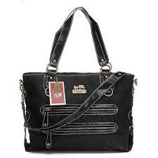 Bag ·  HighQualityCoach Coach Double Zip Logo Medium Black ...