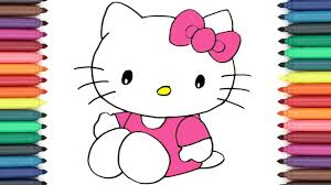 How To Draw Cute Hello Kitty And Friends Easy Drawing Tutorial