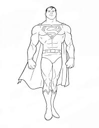 Browse your favorite printable superman coloring pages category to color and print and make your own superman coloring book. Free Printable Superman Coloring Pages For Kids