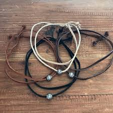 leather necklace mens leather jewelry vegan suede choker wrap bracelet anklet mens bracelet jewelry for men mens necklaces gift for man