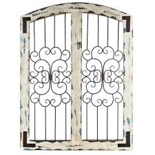 wood and iron wall decor assorted metal wood wall decor wood framed wrought iron wall decor
