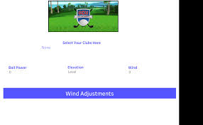 Wind Ring Chart Golf Clash Ring Number Wind Adjustment Calculator Scott Marler