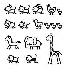 Animal Icon Animal Icon Stock Vector Michikodesign 75982523