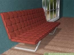 image titled refinish metal patio furniture step 4