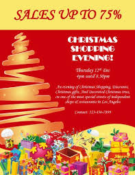 Christmas Flyer Templates Holiday Shopping Flyer Templates 43 Free Christmas Flyer