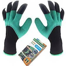 garden gloves. Garden Genie Gloves, Inf-way Both Hand Claws Gardening Quick \u0026 Easy Gloves