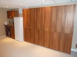 wooden garage storage units