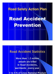essay on road safety truck traffic road safety project powerpoint presentation