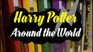 harry potter international covers book design from around the world