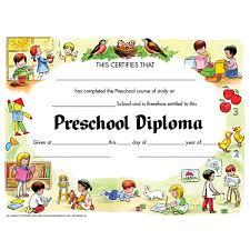 free preschool certificates free preschool certificate template pre school certificate