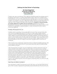 Graduate School Application Essay Examples Graduate School Essay