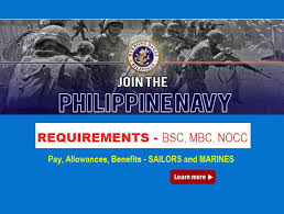 Navy Pay Chart With Dependents 2018 Philippine Navy Requirements To Join Pay Allowances