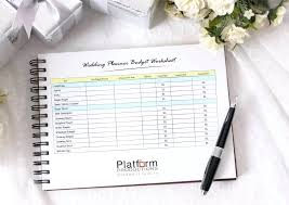 Printable Wedding Planning Worksheets Budget Planner Worksheet ...