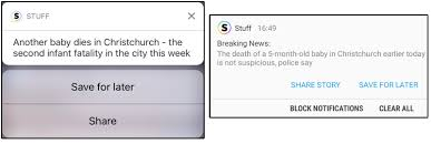 How to customise, save and share your Stuff push alerts   Stuff.co.nz