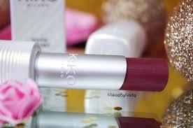 paris revue rouge levres kiko cosmetics more colour