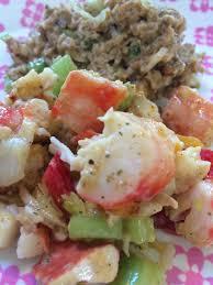 Homemade king crab salad, Costco ...