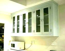 glass door kitchen wall cabinets white cabinet doo