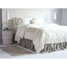 white california king duvet covers luxury french vintage ruffled linen duvet cover set 100 european 100