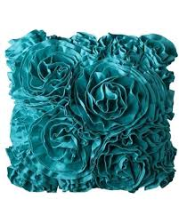 turquoise decorative pillows.  Pillows Xhilaration Jersey Ruffle Decorative Pillow  Turquoise To Pillows L