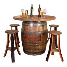 used wine barrel furniture. Used Wine Barrel Furniture. Round Top Table Set: Cabinet Base Furniture G