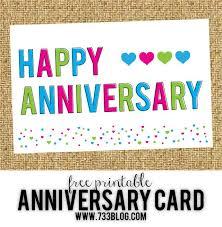 Printable Free Anniversary Cards Free Printable Anniversary Cards Free Printable