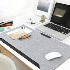 office desk mat mouse pad pen holder wool felt laptop cushion desk mat pad fashion durable