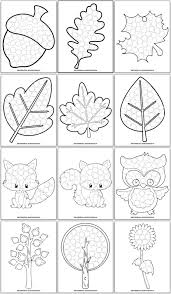 Each dot coloring page not only helps little ones become familiar with images from the fall season, but they also provide fine motor skill corn dot painting coloring page that you can customize and print for kids. 11 Free Fall Dot Marker Printables No Prep Fun For Toddlers Preschoolers The Artisan Life