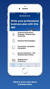 Business Plan App Business Plan For Startups By Thomsen Business Information