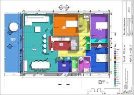 Plan De Grande Maison Ossature Bois De Plain Pied Home