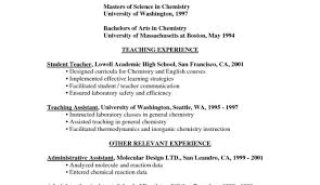 Substitute Teacher On Resume Is A Skills Based Resume Right For